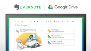 Evernote と Google Drive が連携