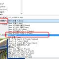 ファイルの種類として PFG を選択する