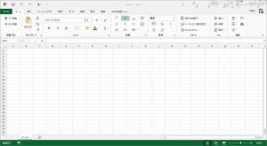 Excel2013のタッチモード