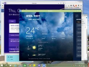 ストアアプリも全画面じゃ無くWindows表示可能
