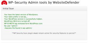 WP Security Scan プラグイン